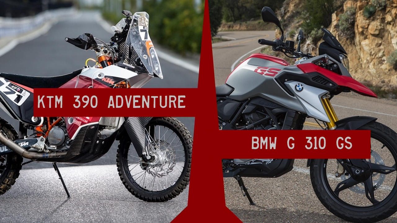 BMW G310GS vs KTM 390 Adventure