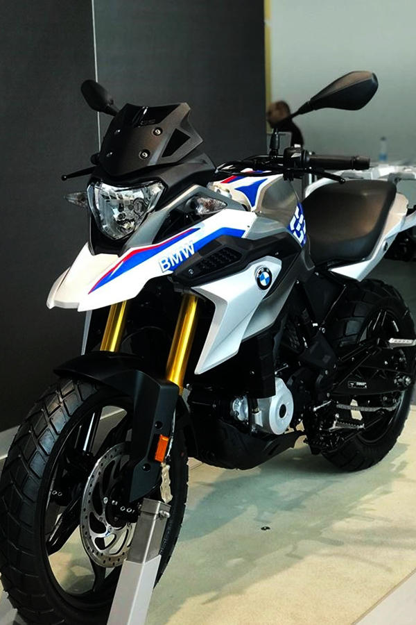 BMW G310GS white