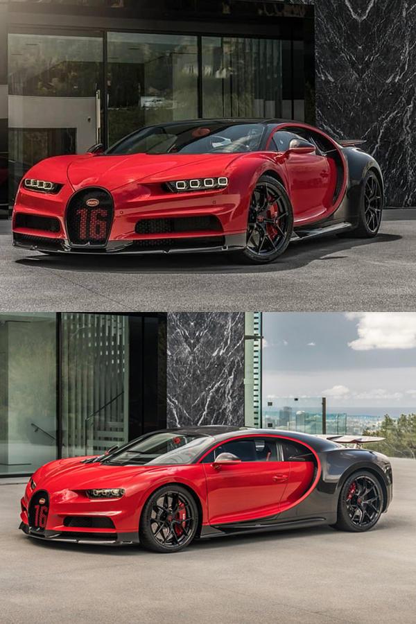 Bugatti Chiron sport mobile