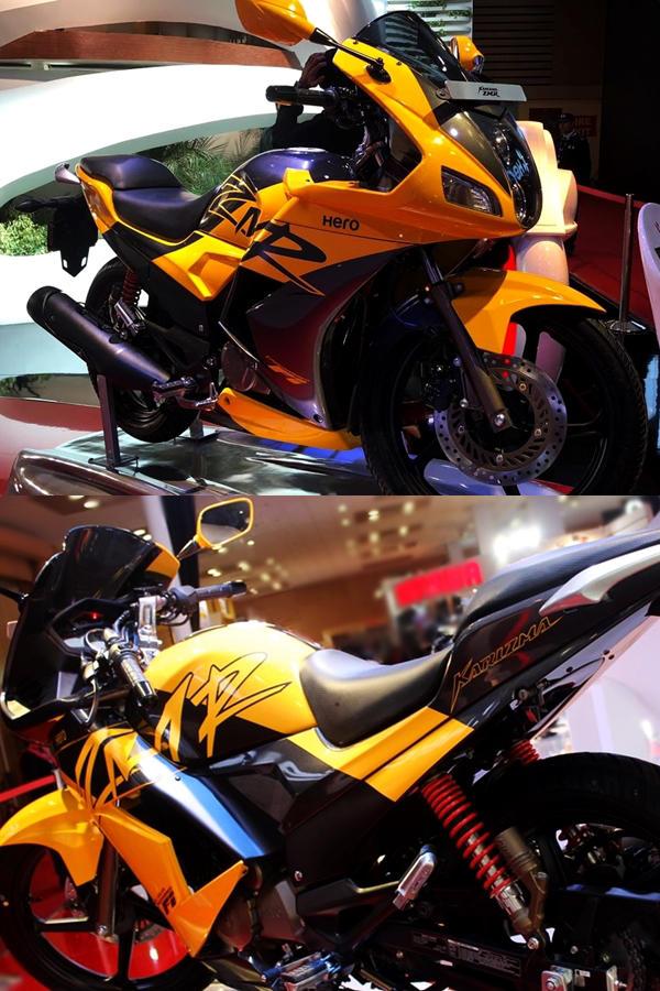 Dual tone Honda Karizma 2018 Yellow