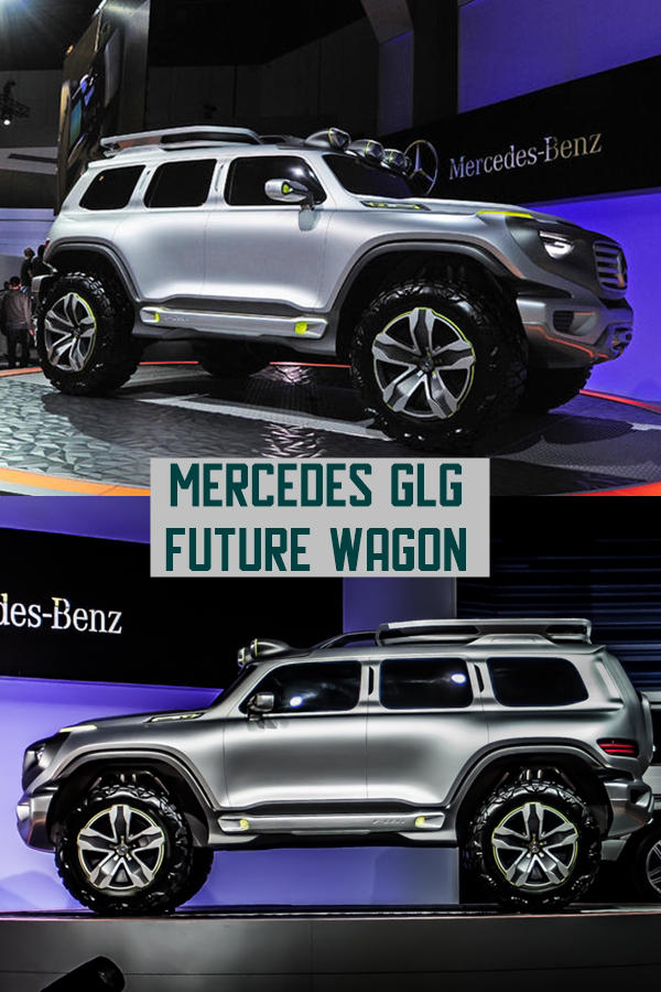 Mercedes GLG in works - Baby G-Class