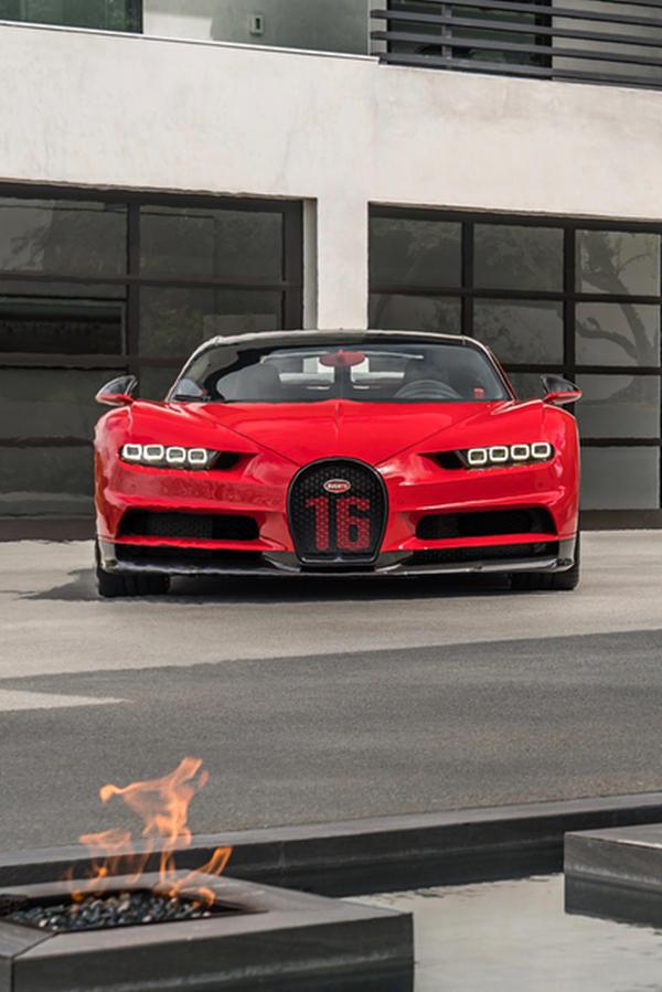 New Bugatti Chiron Sport