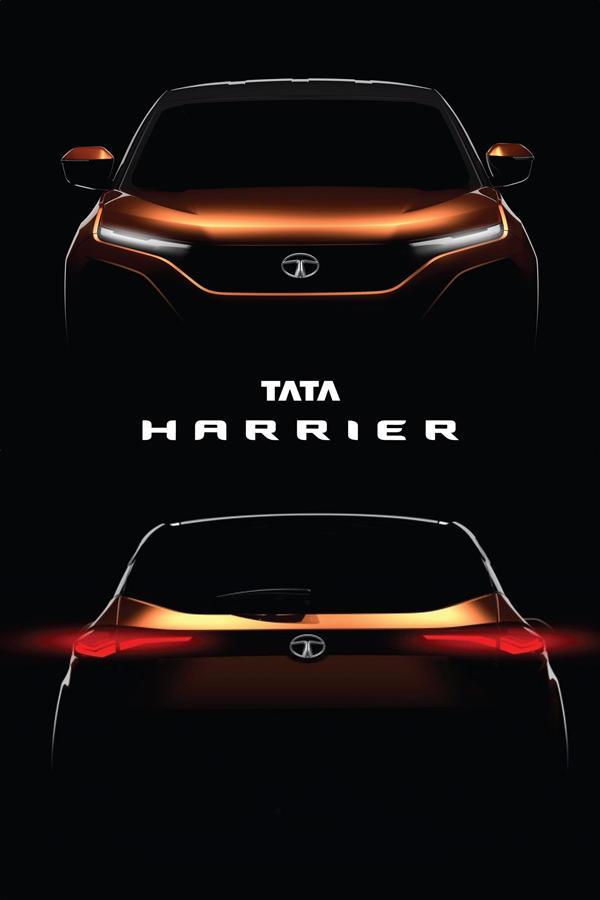 New Tata Harrier teased