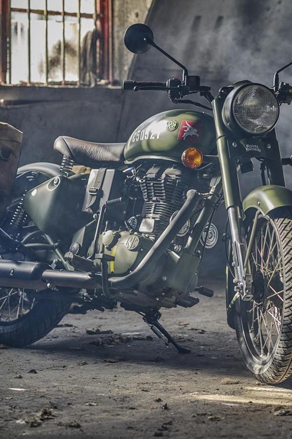 Royal Enfield Pegasus Classic 500 Oliver dab green