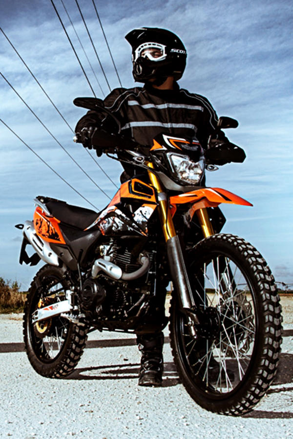 UM DSR II Adventure ride