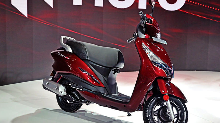 All new Hero Destini family scooter
