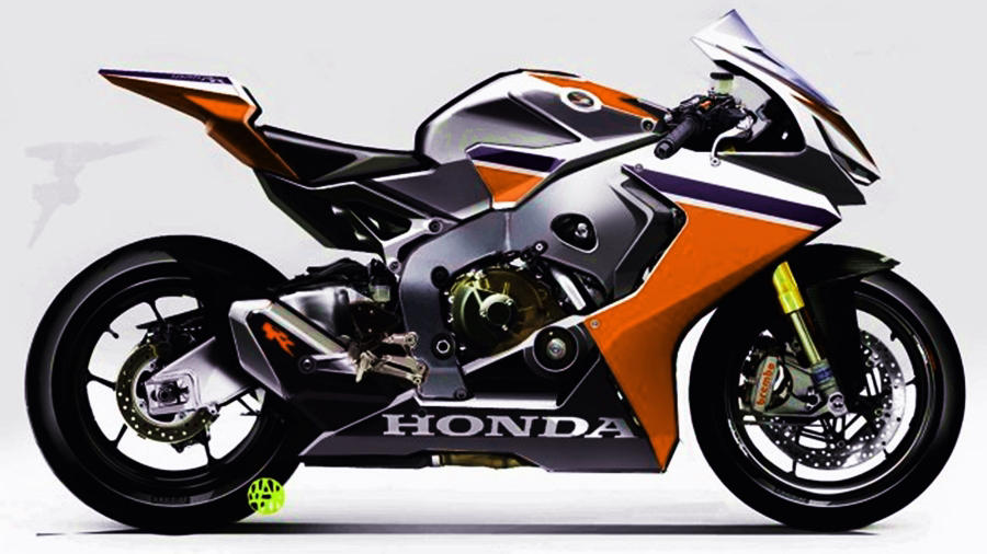 Honda RVF1000 coming soon