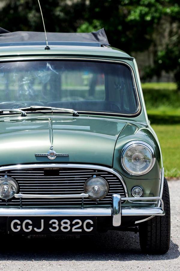 Paul McCartney Mini Cooper S for auction