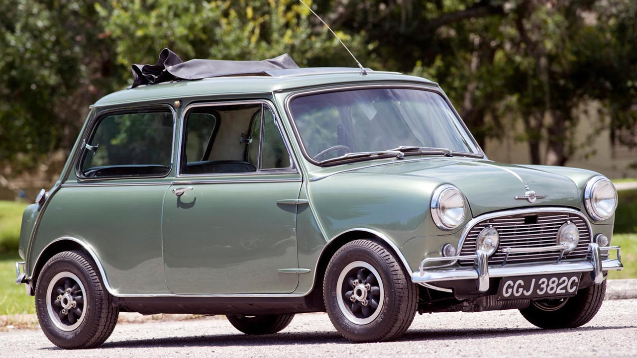 Paul McCartney Mini Cooper S