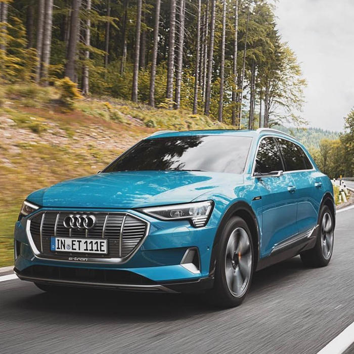 Audi E-Tron ride USA