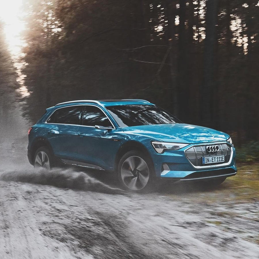 New Audi E Tron Electric SUV