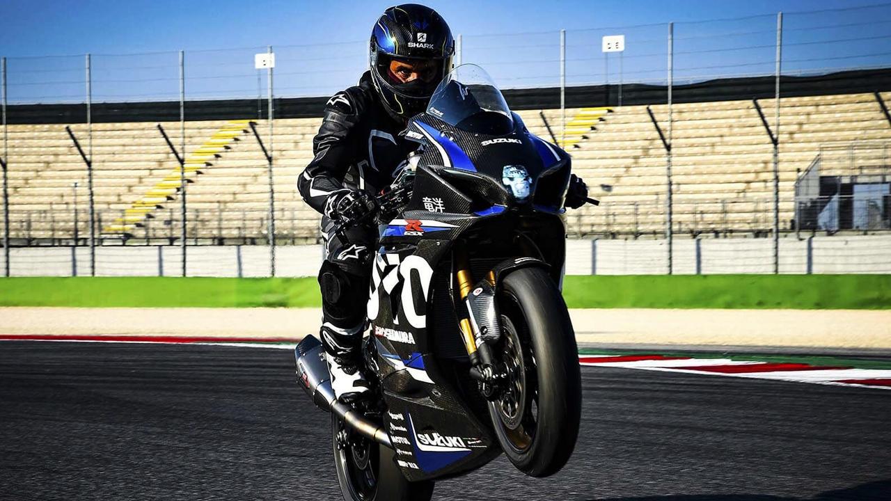 New Suzuki GSX1000R Ryuyo rider