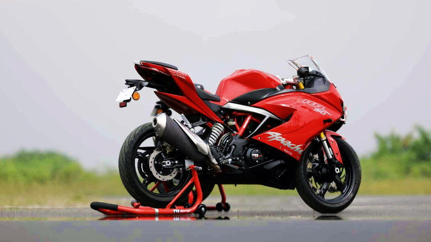TVS Apache RR 310 BMW Bike