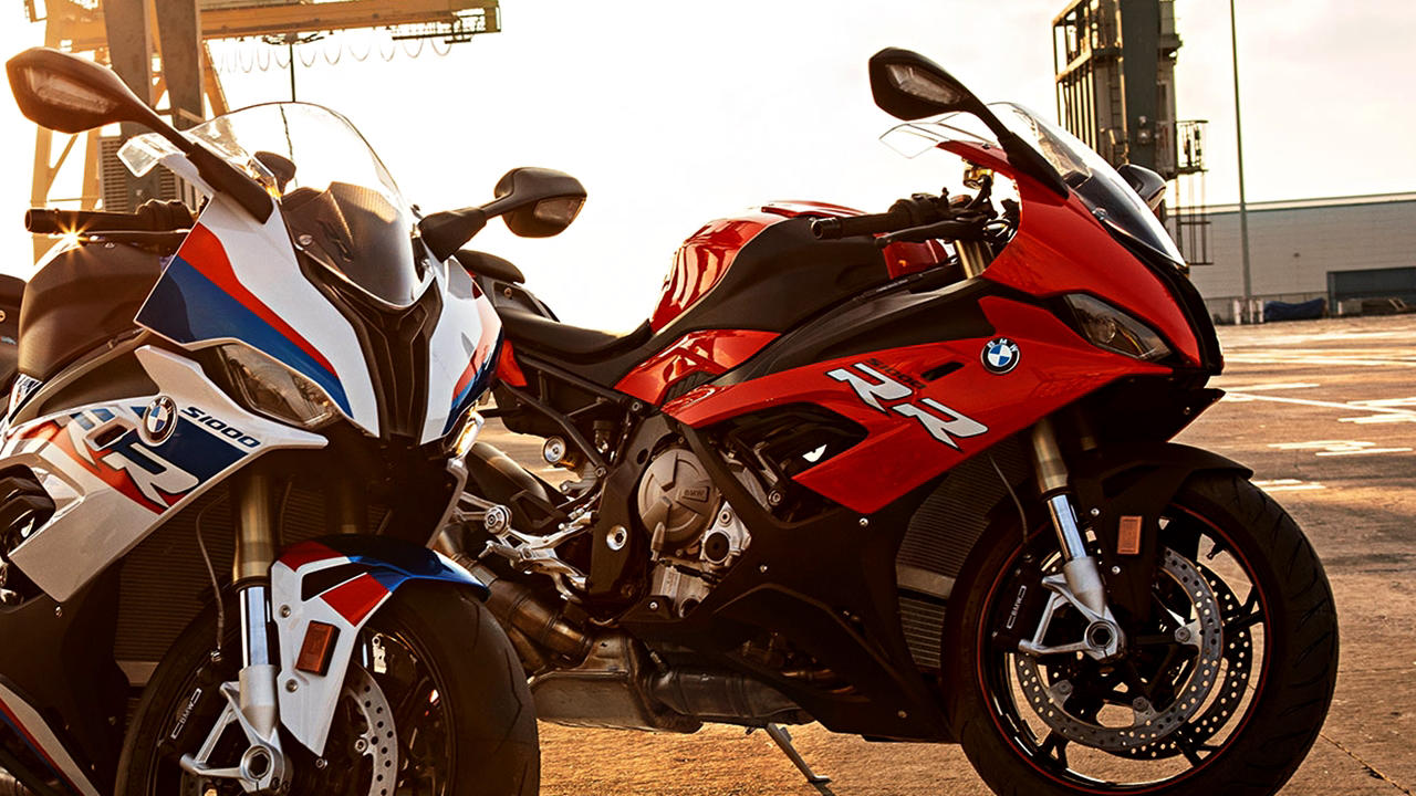 2019 BMW S1000RR red and white