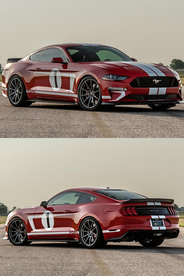 808 hp Hennessey Ford Heritage Edition Mustang