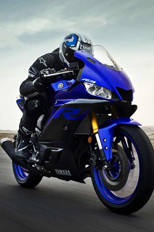All new Yamaha YZF R3 2019