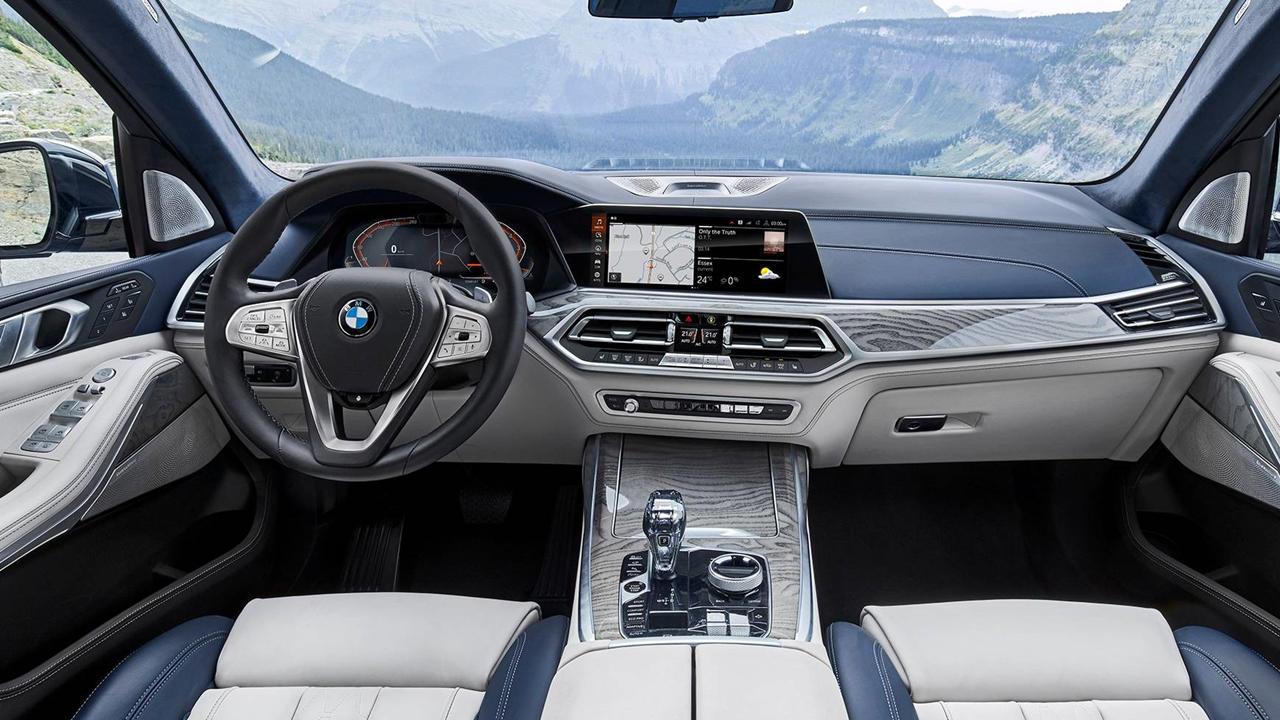BMW X7 2019 interior