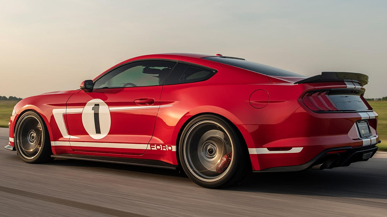 Hennessey Heritage Edition Mustang ride