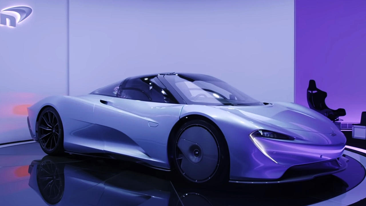 McLaren Speedtail wallpaper