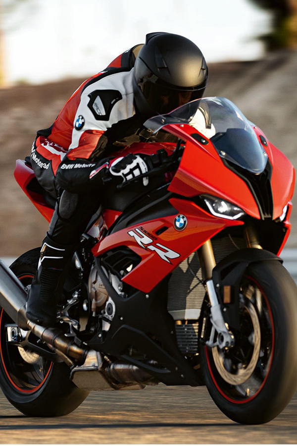 New BMW S1000RR 2019 red