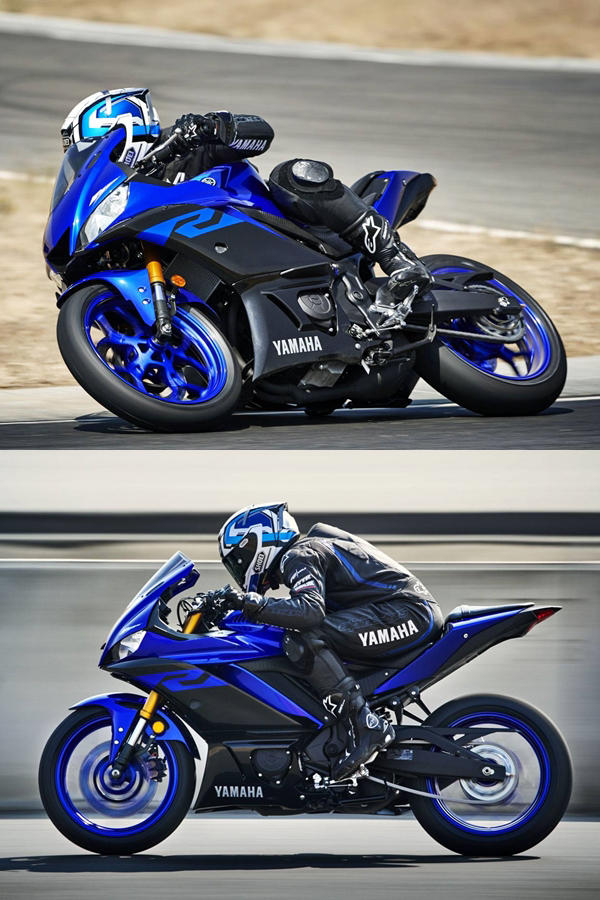New Yamaha R3 2019