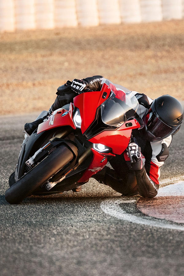 Ride the new red S1000RR