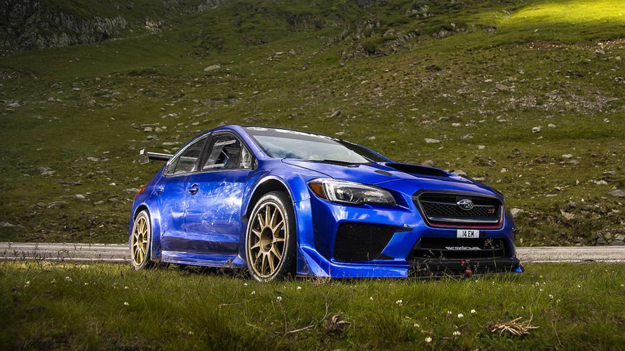 Subaru STI Type RA, Mark Higgins & the Transfagarasan