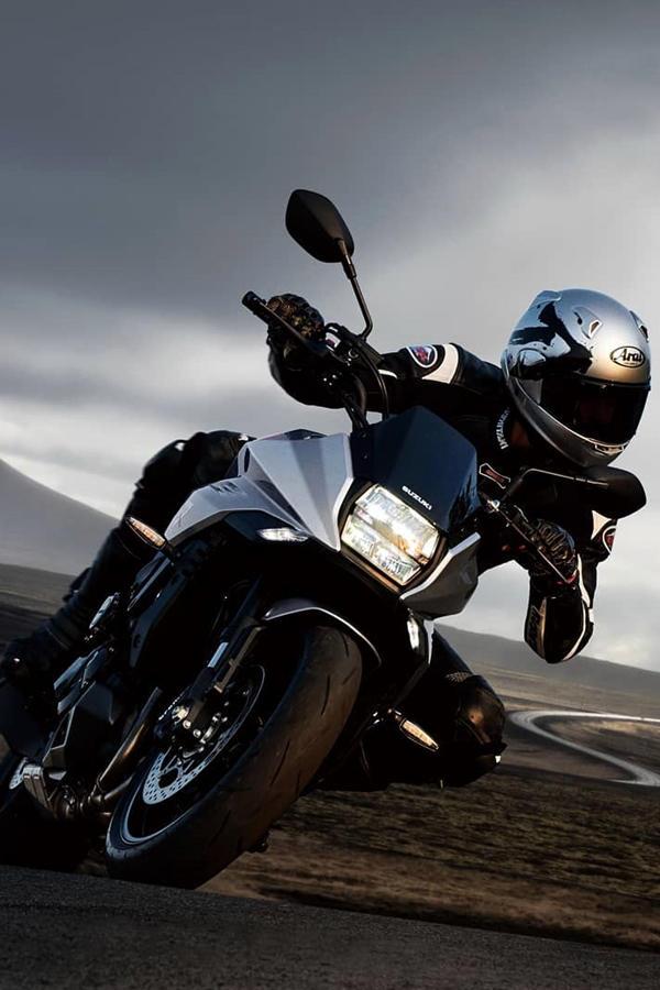 Suzuki Katana rider