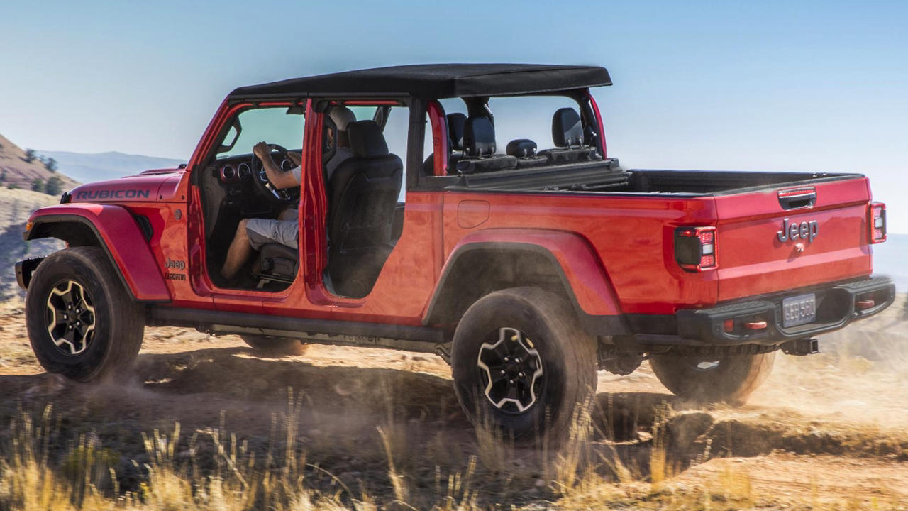 New Jeep Gladiator truck : Revealed