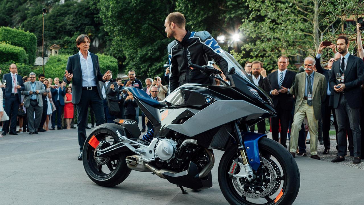 BMW 9Cento reveal