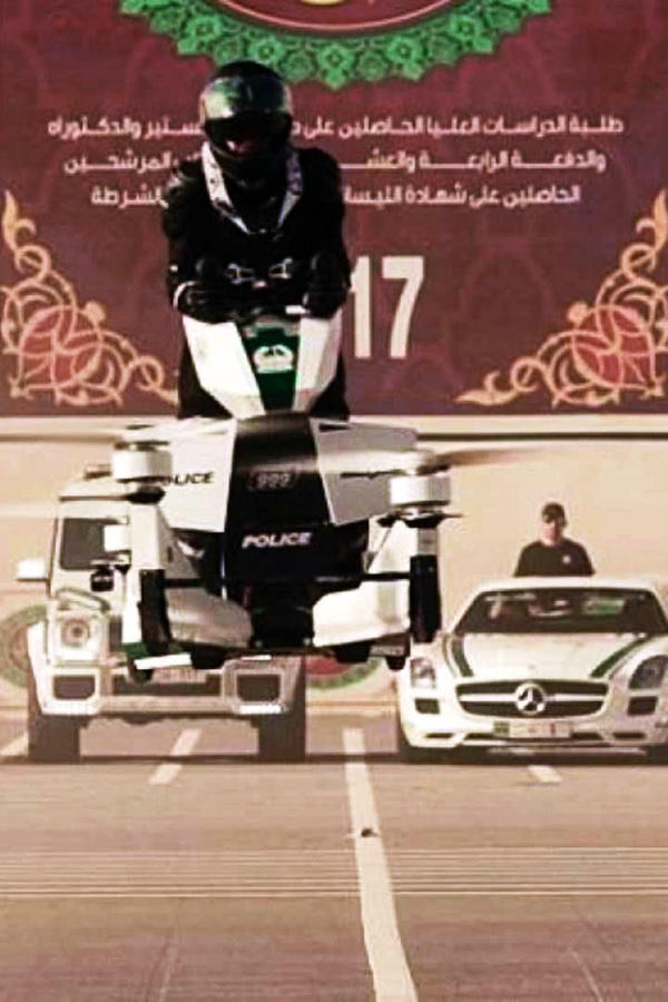 Dubai Police Hoverbike 3 Hoversurf