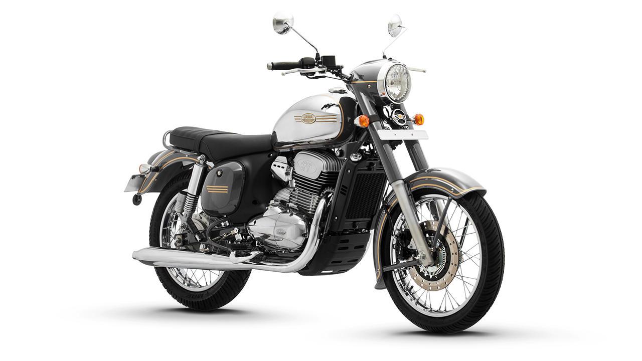 Jawa Classic white