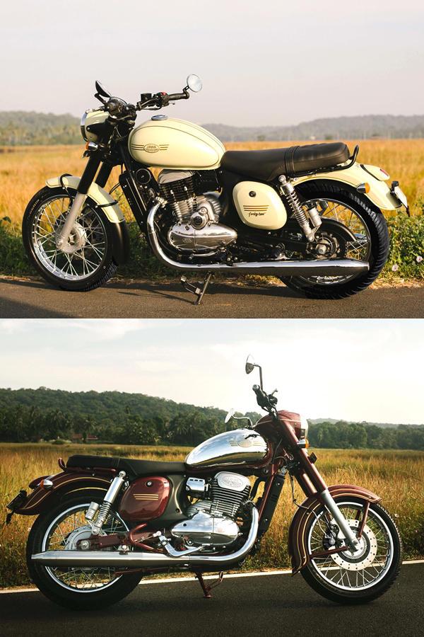 New Jawa motorcycles