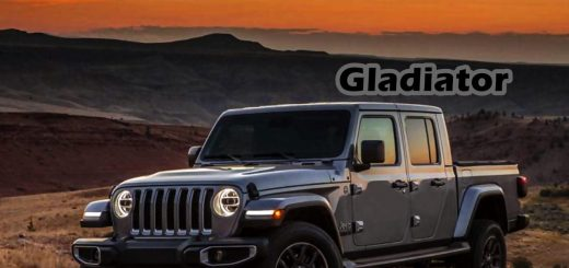 New Jeep Gladiator truck grey