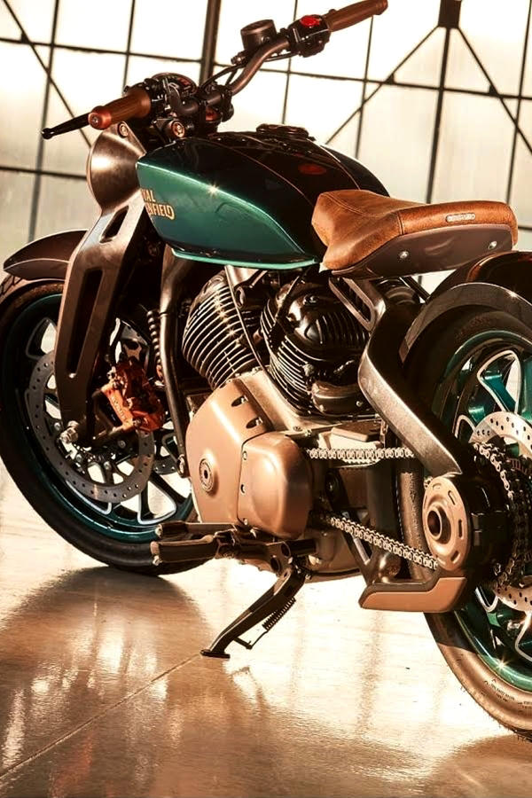 New Royal Enfield KX Concept Bobber