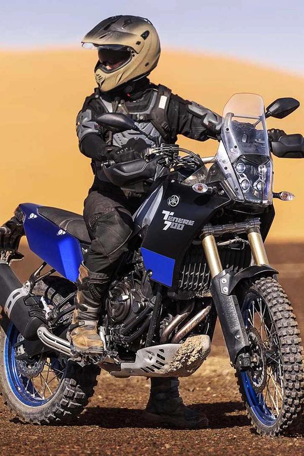 Yamaha Tenere 700 rider