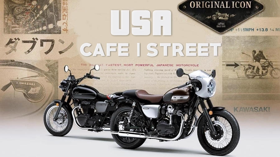 2019 Kawasaki W800 Street and Cafe USA