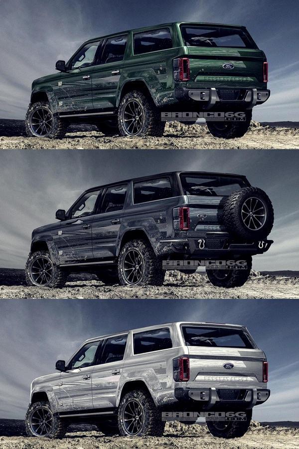 2020 Ford Bronco SUV