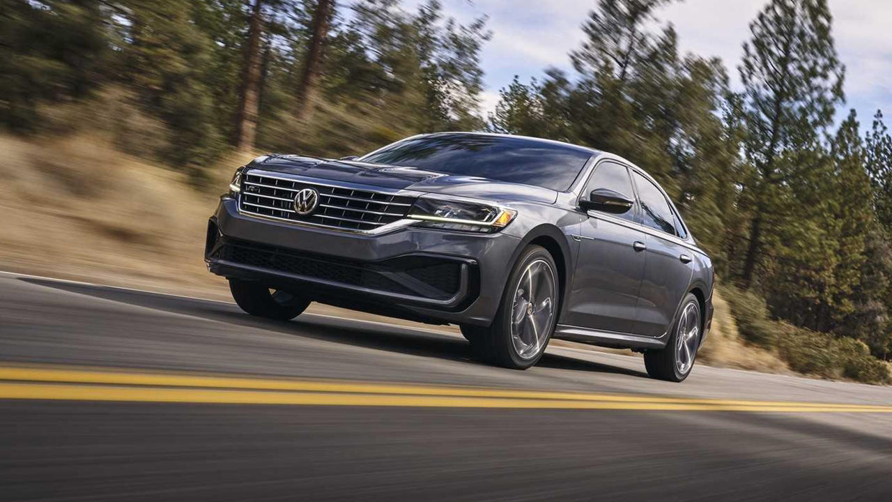 2020 VW Passat ride
