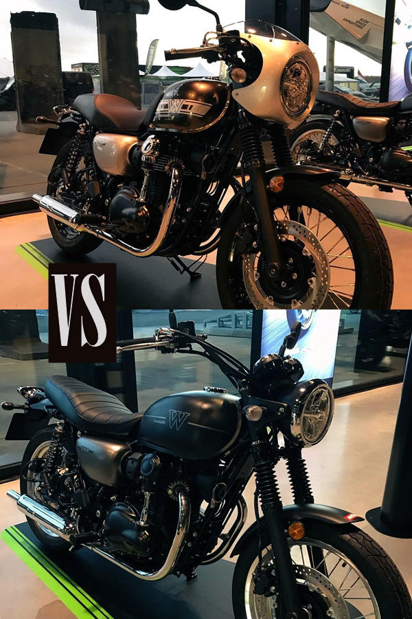 Compare W800 Cafe and Street