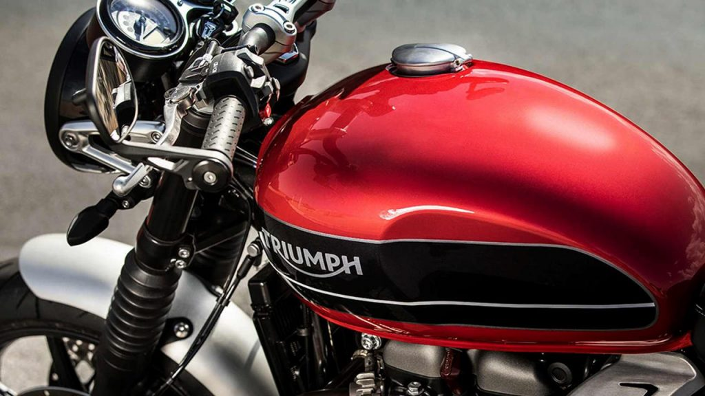 2019 Triumph Speed Twin red