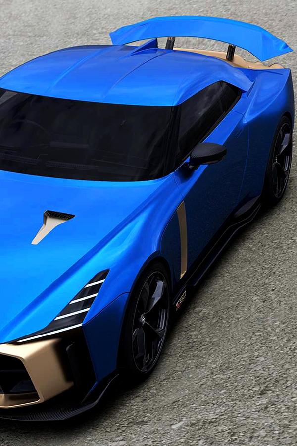 Nissan GTR 50 edition