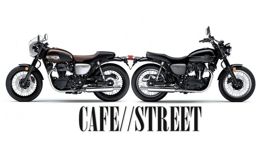 W800 Cafe vs Street