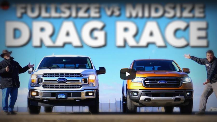 Ford ranger vs f150