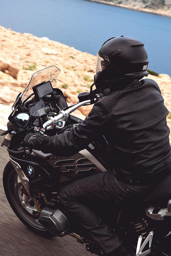 R 1200 GS rider