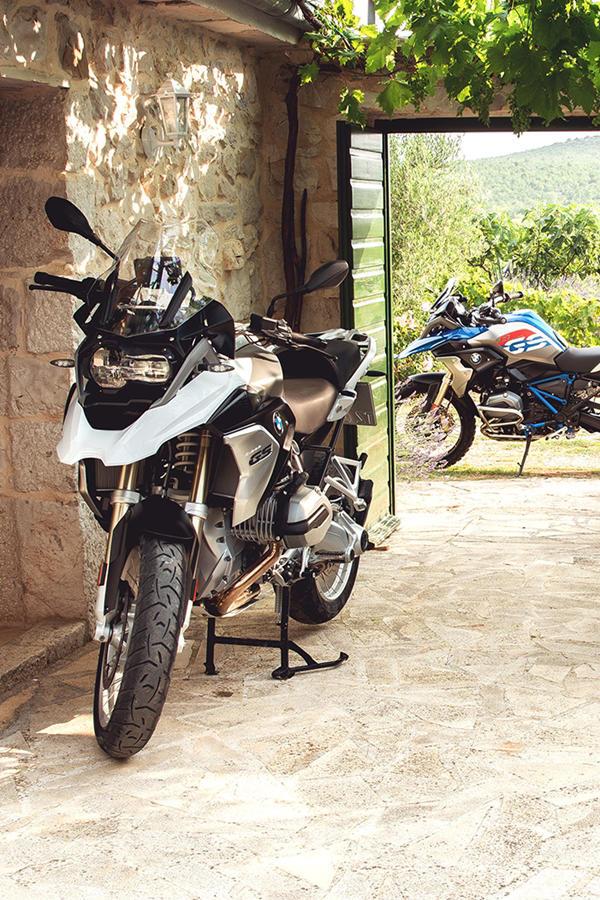 Ride BMW R 1200 GS Adventure