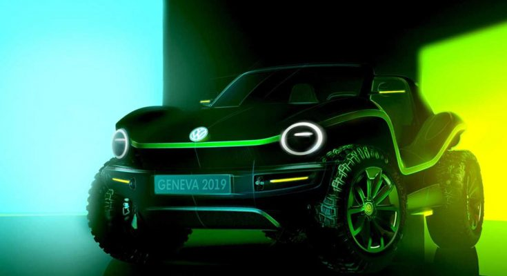 VW Electric Beach buggy