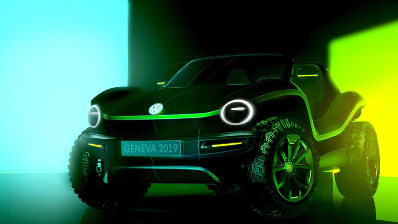 VW Electric Beach buggy