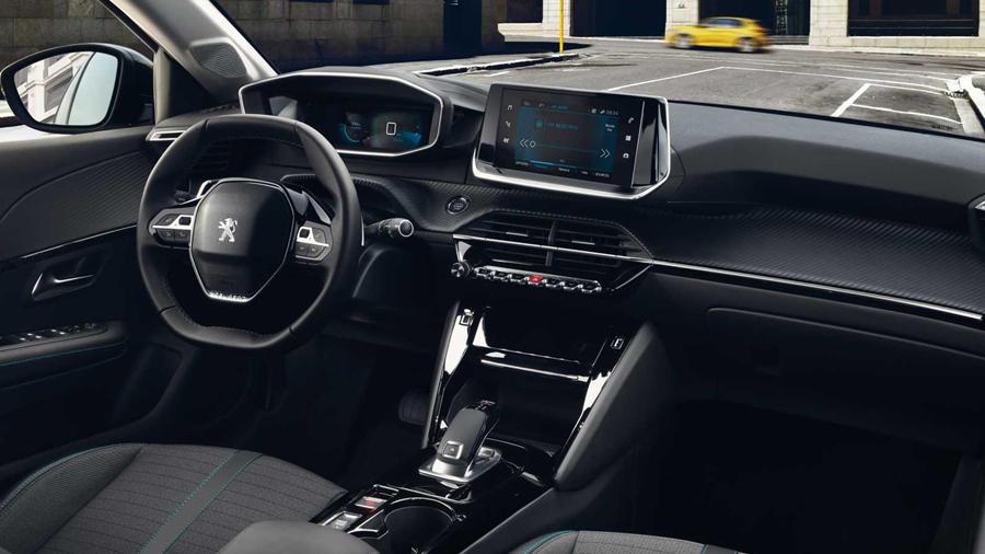2019 Peugeot 208 high end interior