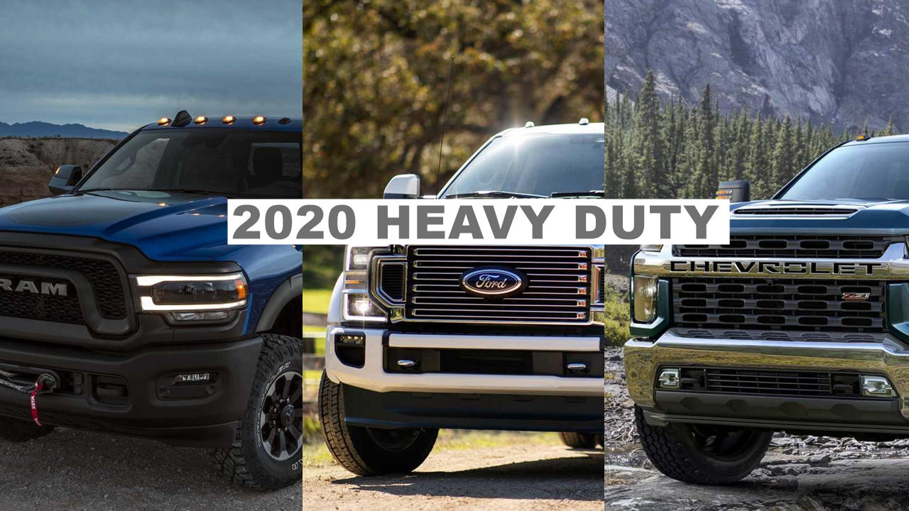2020 Ram Hd Ford Super Duty Vs Chevy Silverado Hd Autopromag